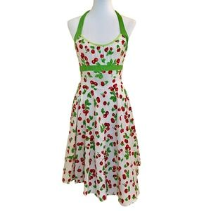PinUp Couture Cherry Dress - So Cute!  Size Small